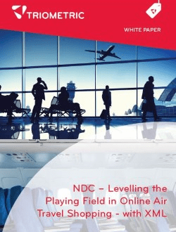 NDC Online Air Travel Shopping XML Data Sheet
