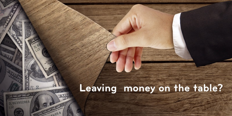 RoI - Leaving money under the table