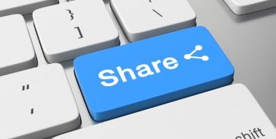 Sharinb data button
