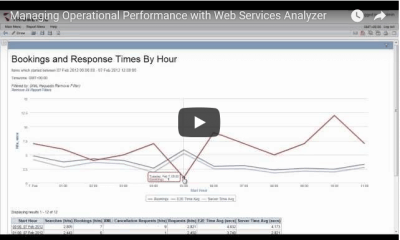 Web Services Analyzer Operational Performance Video