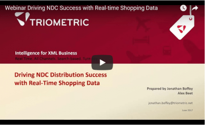 Webinar NDC Success Real-time Shopping Data