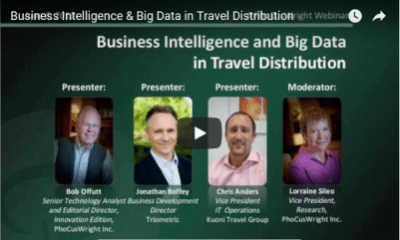 Business Intelligence And Big Data In Travel Distribution Video